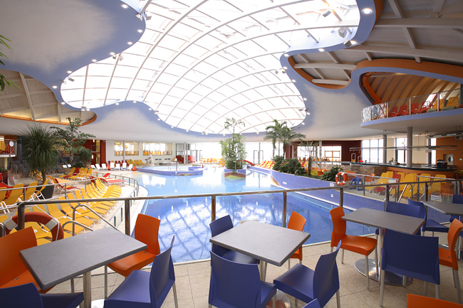 H2O Therme  / Dachverglasung -
