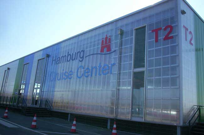 Hamburg Cruise Center  / Wandverglasung -